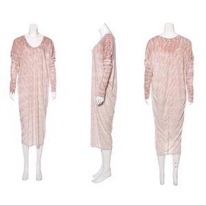 Raquel Allegra Basic Tie Dye Maxi Dress Size Small
